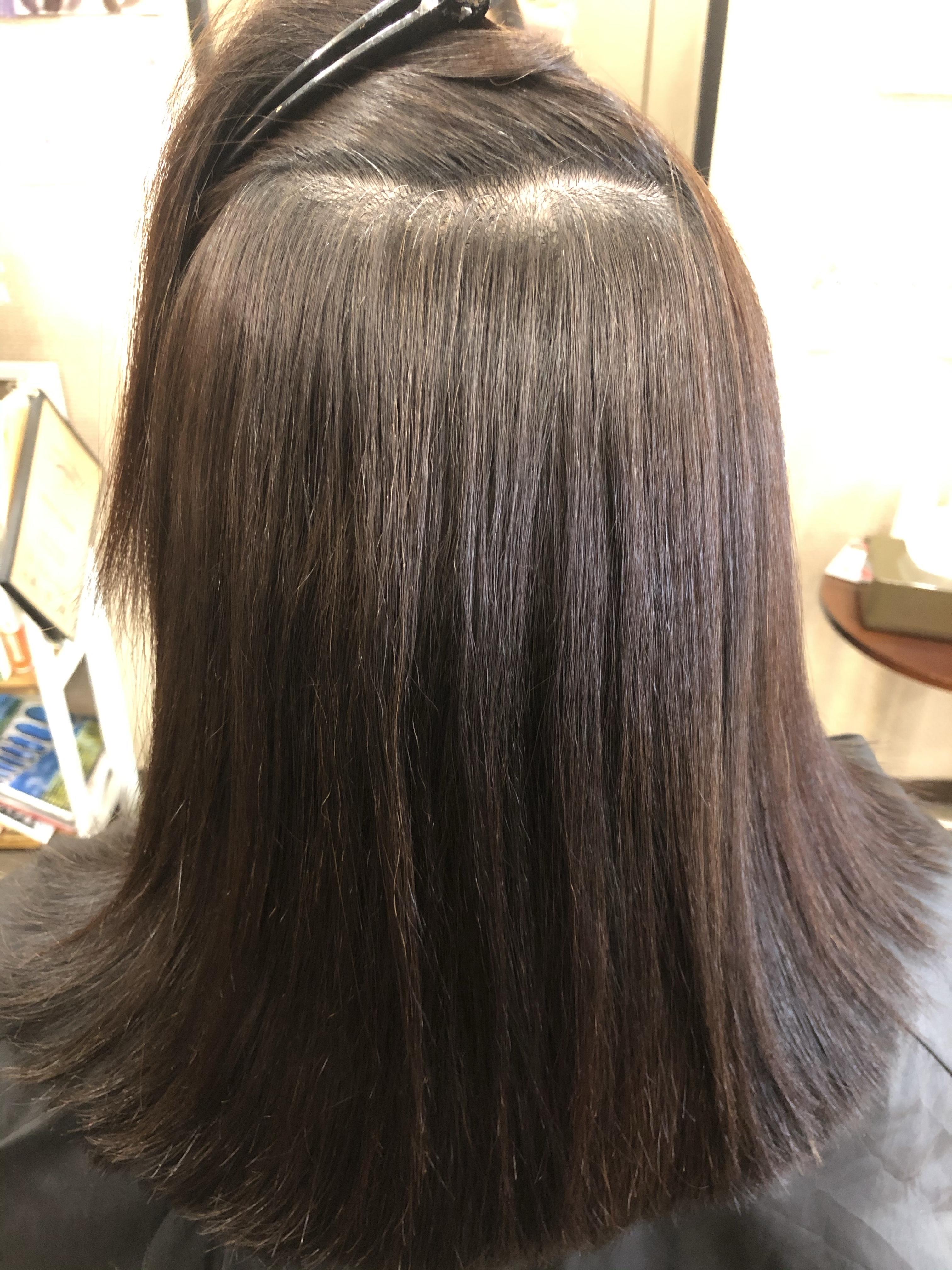 川口市で髪質改善ストレートエステ